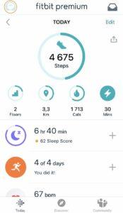 Fitbit - aplikacja fitness