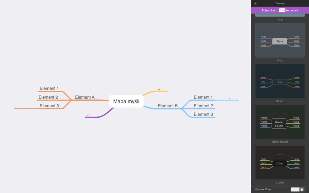 MindNode - mapy myśli